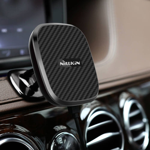 Nillkin (10W) Car Dash Pedestal Mount & Magnetic Fast Wireless Charger II
